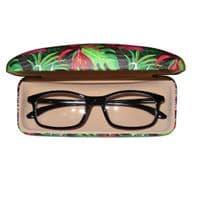 Vibrant Hibiscus Glasses Case